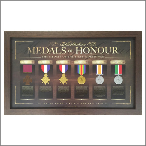 ANZAC Medals of Honour print