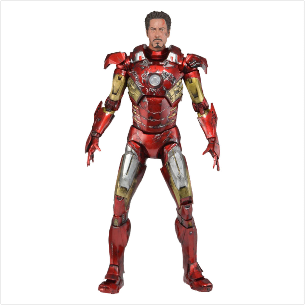 Avengers - Iron Man Battle Damaged 1/4 Scale Figure