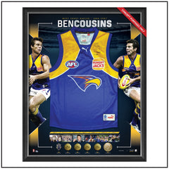 BEN COUSINS SIGNED CAREER RETROSPECTIVE JUMPER