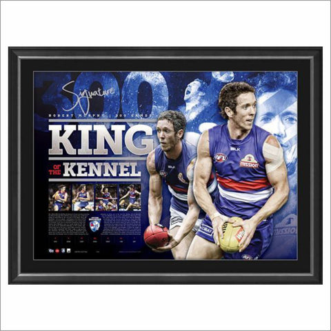 KING OF THE KENNEL – BOB MURPHY SIGNED LITHOGRAPH