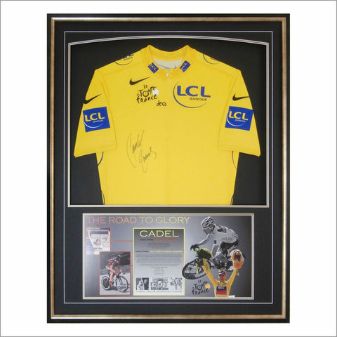 Cadel Evans Signed Yellow Jersey