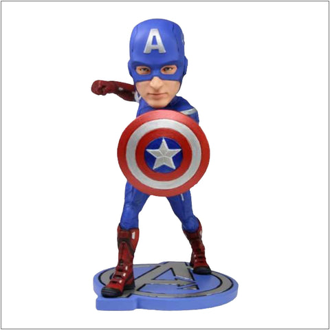 Collectable -Avengers Movie - Captain America Headknocker
