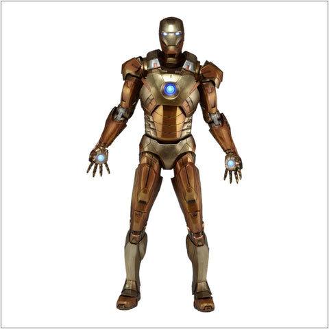 Avengers - Iron Man Mark XXI Gold 1:4 Scale Figure