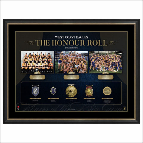 West Coast Eagles Honour Roll