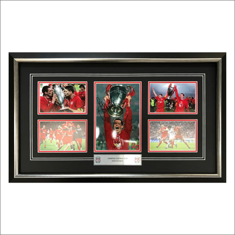 Jamie Carragher Signed Montage