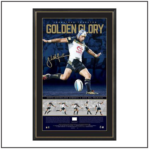 GOLDEN GLORY – JOHNATHAN THURSTON SIGNED PREMIERS LITHOGRAPH