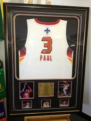 CHRIS PAUL SIGNED SINGLET