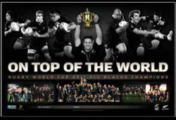 ALL BLACKS ON TOP OF THE WORLD PRINT