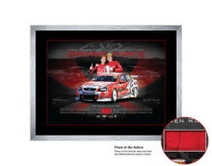 HRT VICTORY 'DRIVING FORCE' Bathurst 2009 - V8 SUPERCARS MEMORABILIA - SIGNED LIMITED EDITION LITHOGRAPH
