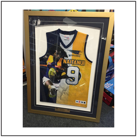 Nic Naitanui Signed Framed Jumper