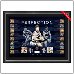 PERFECTION – PERSONALLY SIGNED BROWNLOW MEDAL LITHOGRAPH