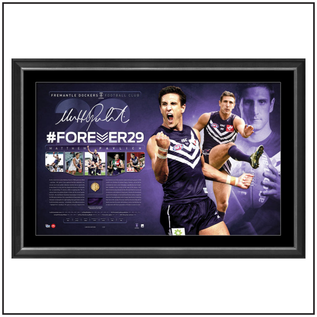FOREVER 29 – MATTHEW PAVLICH CAREER RETROSPECTIVE SIGNED LITHOGRAPH