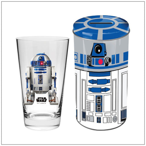 R2D2 Collector Glass in Tin