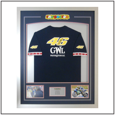 Valentino Rossi signed shirt