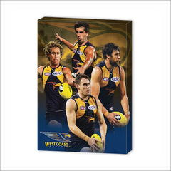 WEST COAST EAGLES PLAYER CANVAS
