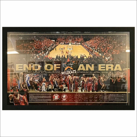 End of an Era - Perth Wildcats 2012