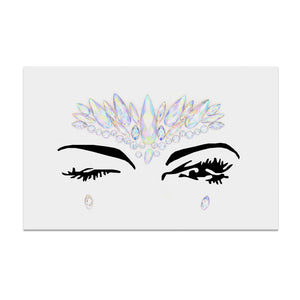Facial Tattoo Acrylic  Decoration