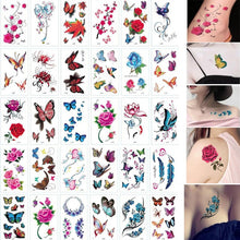 Load image into Gallery viewer, 30 Sheet Cartoon Kids Tattoo