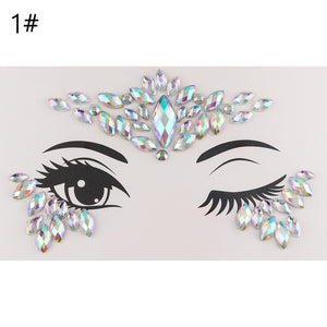 Face Jewellery Gems Rhinestone Tattoo
