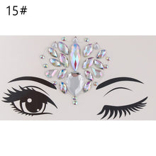 Load image into Gallery viewer, Face Jewellery Gems Rhinestone Tattoo