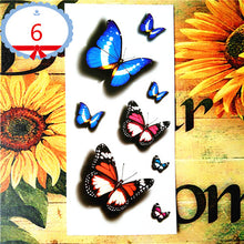 Load image into Gallery viewer, Amazing Butterfly 3d Tattoo