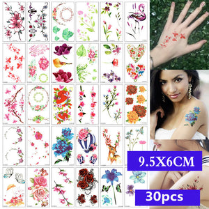 30 Pieces/set Body Tatoo