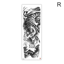 Load image into Gallery viewer, Arm Sleeve Tattoo Sketch Lion Tiger