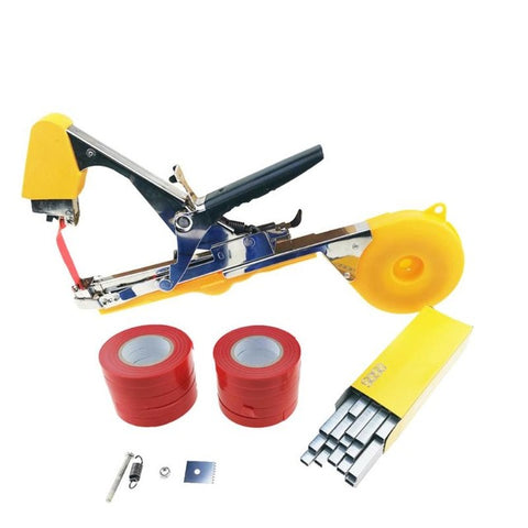 Tying Machine Garden Plant Tapetool Tapener Set for Vegetable Stem Strapping Pruning Tools Garden Tool Plant Tying Machine