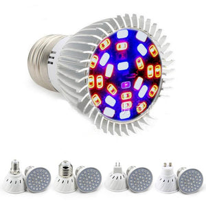 4W 5W Plant Grow Light Full Spectrum Hydroponic Plant Seed LED Light Bulbs E27 E14 MR16 GU10 Growing Lamps Bulbs 220V 110V