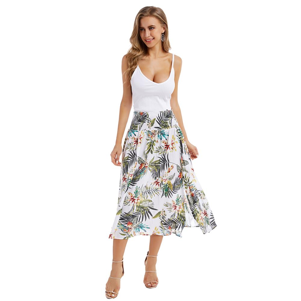Women's Casual Printed Skirt - Fashion Chic