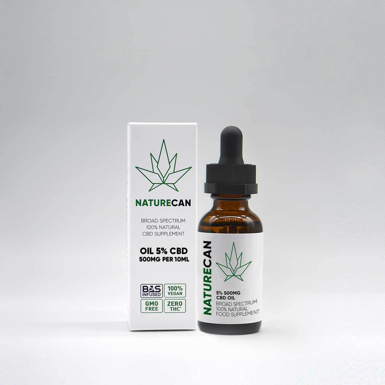 5% CBD Oil | Naturecan