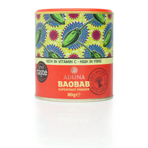 Aduna Baobab superfruit Powder 100g