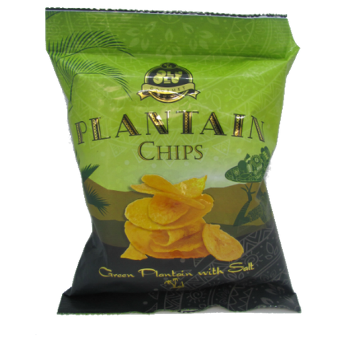 OluOlu Green Plantain Chips
