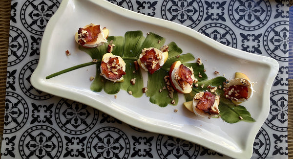 Apple Brie Bacon Bites