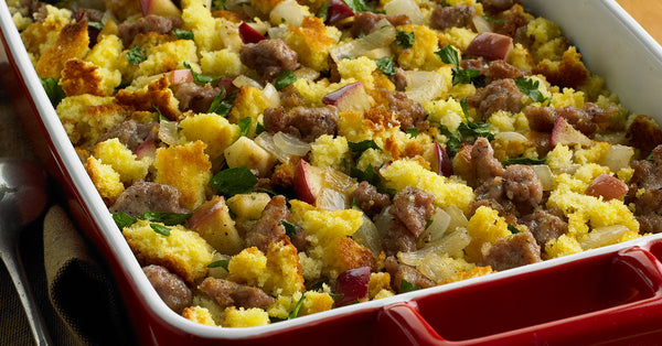 Aunt Gail's Italian Sausage & Apple Lower Carb Stuffing