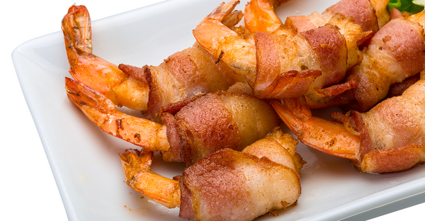 Party Time Bacon Wrapped Shrimp