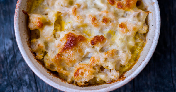 Baked Cauli 'Mac & Cheese'
