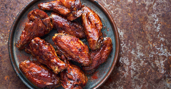 Roasted Teriyaki Hot Wings