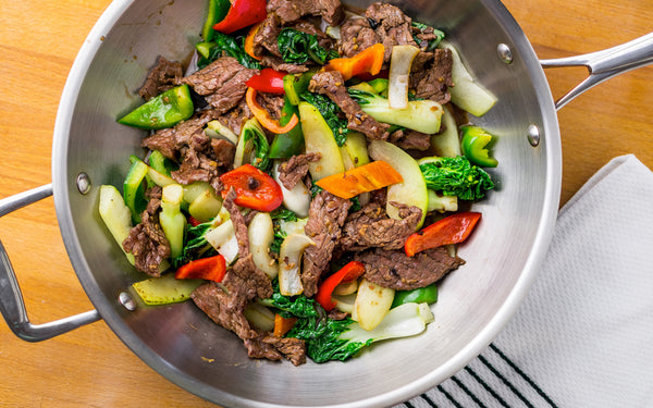 Chinese Beef & Bok Choy