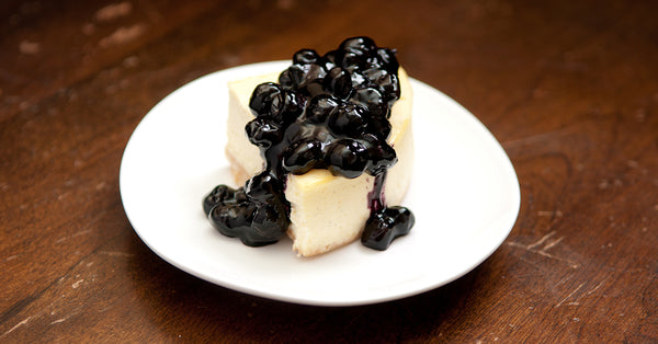Blueberry Cheesecake - No Sugar Added