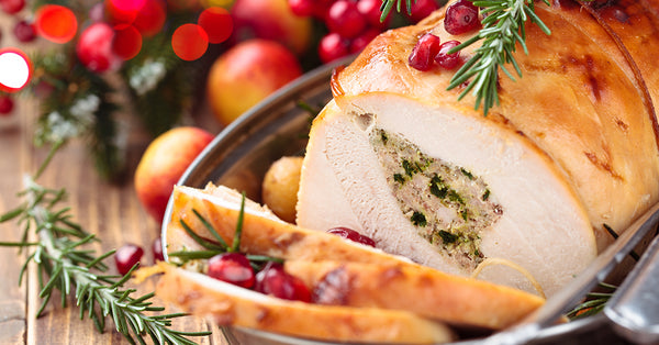 Rolled Boneless Turkey Breast with Apples