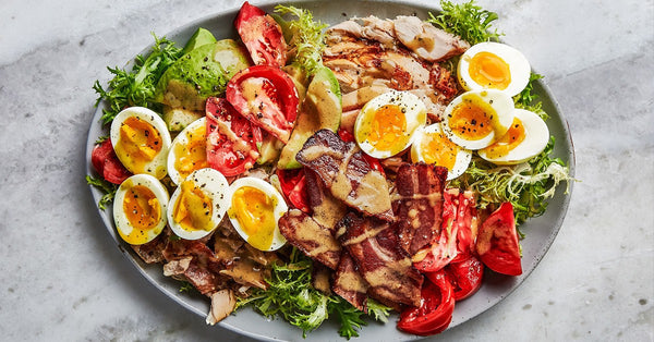 Throw together a Cobb Salad! Yummy.