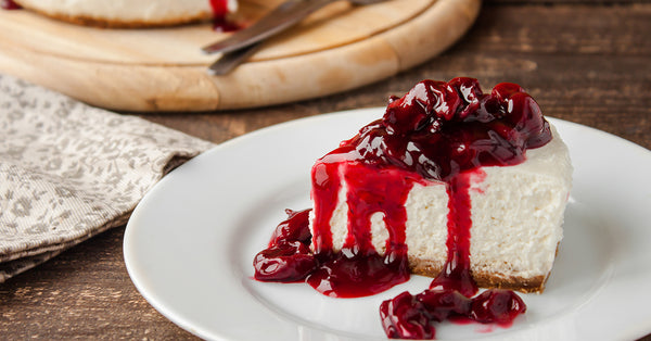Ho ho ho Cheery Cherry Cheesecake - No Sugar Added