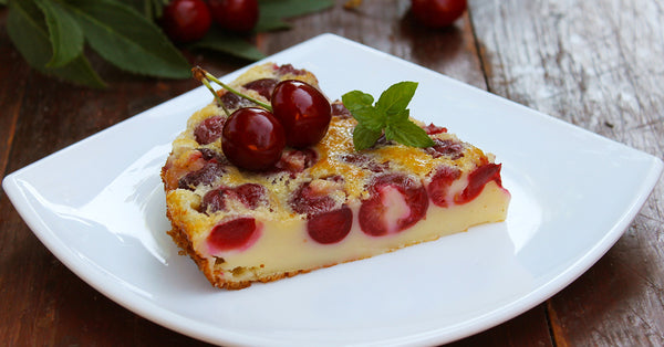 Baked Cherry Custard - Make a French Clafoutis