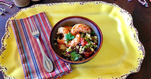 Fiesta Shrimp Salad