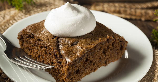 Gingerbread Cake - shhhhh, it has zero added sugar!
