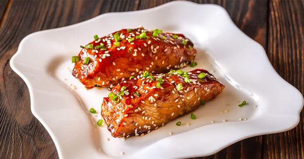 Roasted Asian Glazed Salmon
