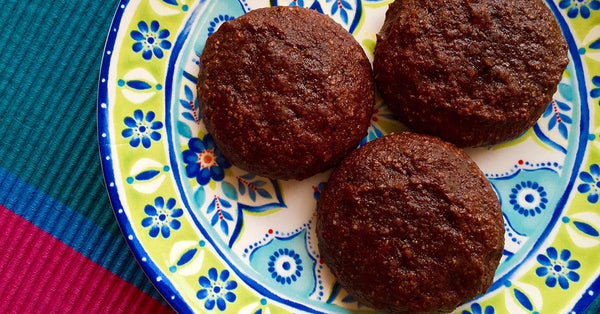 Little Chocolate Cookies - no flour, no sugar, delicious!