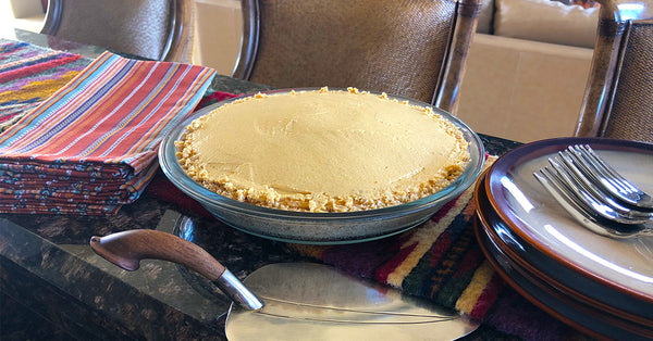 No Bake No Sugar Pumpkin Cheesecake