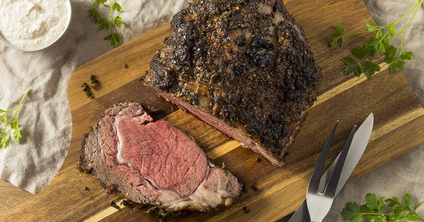 Roasted Prime Rib of Beef... Holiday Perfection